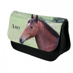 Personalised Horse Photo Pencil case.