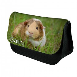 Personalised guinea pig pencil case, Makeup bag