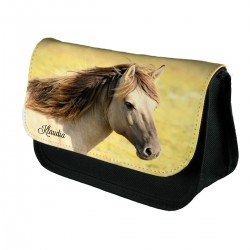 Personalised Horse pencil case.