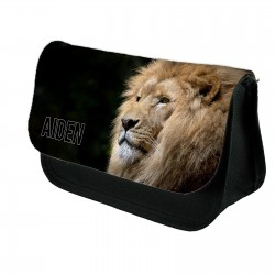 Lion Personalised pencil case.