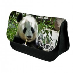 Personalised Giant Panda Pencil Case