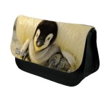 Personalised Baby Penguin Pencil Case / Makeup bag