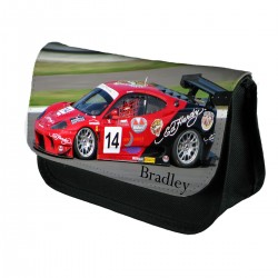 Personalised Red Raceing Car Pencil Case