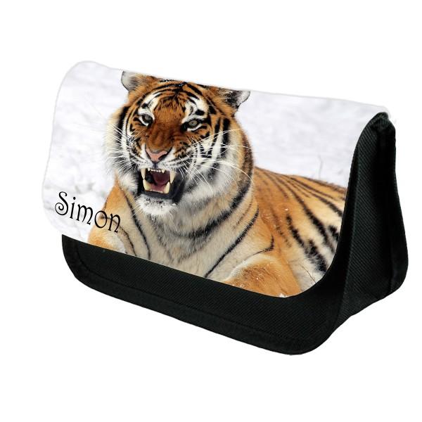 Personalised Tiger Pencil Case