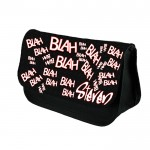 Comic, Blah_blah Personalised Pencil Case / Make Up Bag. Birthday / Christmas Gift Idea