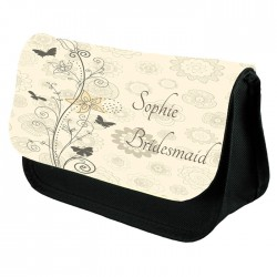 Personalised Make Up Bag Perfect Gift Idea for Her. Wedding Favours Birthdays Christmas.
