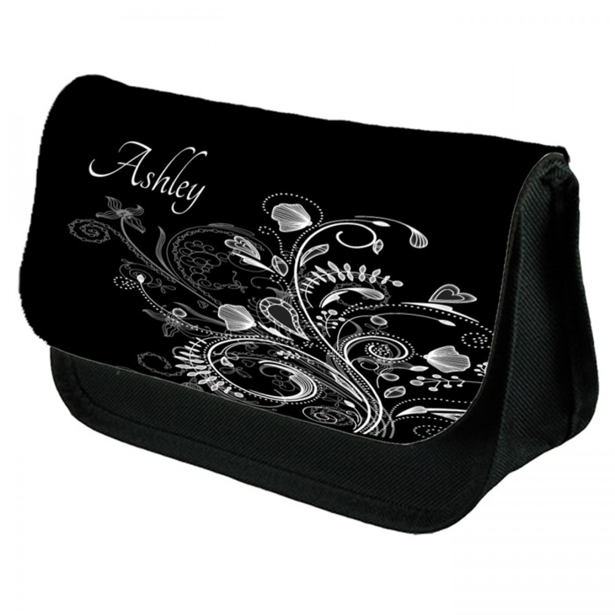 Beautiful Classic Scrolls On This Make Up Bag Personalised / Cosmetic Bag  Perfect Gift Idea for Her. Favours Birthdays Christmas.