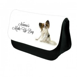 Cute Papillon Personalised Make Up / Cosmetic Bag / Pencil Case For School