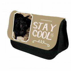Photo Gift With your own Slogan Personalised Make Up / Cosmetic Bag / Pencil Case For School