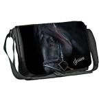Equestrian, Single Horse, Personalised Gift Messenger / School / Sleepover Bag.