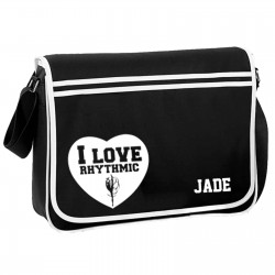 Gymnastics Rhythmic Dance Personalised Gift Messenger,  School,  Sleepover Bag.