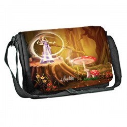 Fantasy Magic design Personalised Gift Messenger / School / Sleepover Bag. Full Colour