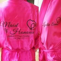 Hot Pink Robes