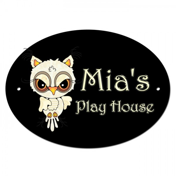 Playhouse Door Room Sign. With Your child's Name