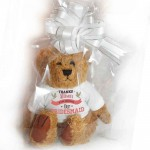 Personalised Bear, Wedding, Bridesmaid, Change The Message To Suite You. 2 Sizes. Perfect Gift Idea