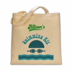 Personalised Swimming Kit bag.