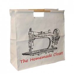 Sewing Bag, Personalised Wooden Handle Bag. Great For Keeping All Your Bits & Bob's Together.